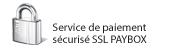 Paiement sécurisé : Service de paiement sécurisé SSL PAYBOX