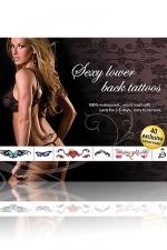 Tatouages sexy (bas du dos) : 40 Tatouages sexy temporaires pour le creux de vos reins .
