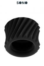 Ball Strap SONO 40 : Ball strap super extensible en soft TPE,  pour serrer les bourses, la verge ou les deux en même temps, par SONO.